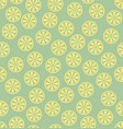 lemon pattern seamless vector image vector image
