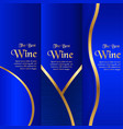 luxury packaging template in modern style for vector image vector image