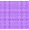Purple volume squares vector image vector image
