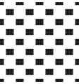 soccer field pattern vector image vector image