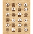 Coffee labels set for your design vector image