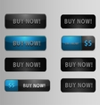 Buy Now Buttons vector image vector image
