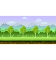 game background 2d application design vector image vector image