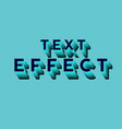 glowing text vector image vector image
