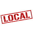 local stamp vector image vector image
