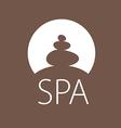 logo round stones for spa salon