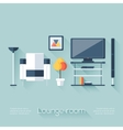 Lounge or Sitting Room Cover vector image vector image