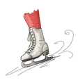 Skates cartoon sketchfor your design vector image vector image