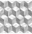 Geometric Cubes Seamless Pattern vector image vector image