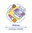 makeup concept icon make up artist kit equipment