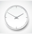 Realistic clock watch icon vector image vector image