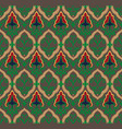 royal pattern seamless background vector image vector image