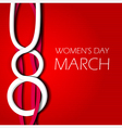 womens day vector image vector image