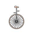 circus unicycle wheel vector image