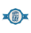 Happy Friendship Day realistic Banner vector image vector image
