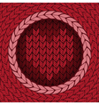 knitted background 4 preview vector image