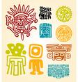 Maya Set- symbols vector image