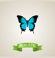 realistic sky animal element vector image vector image