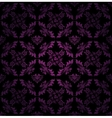 seamless pattern ornament lilac floral vector image vector image