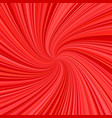 spiral background - design from rays in red tones vector image vector image