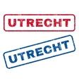 Utrecht Rubber Stamps vector image vector image