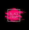 black friday label big shopping promotion sale vector image vector image