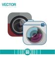 Camera icon design vector image vector image