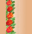 card design - watercolor floral pattern vector image vector image