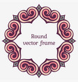 elegant luxury frame vector image