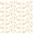 Floral pattern Hummingbird vector image vector image