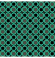 Green abstract geometric seamless pattern vector image vector image
