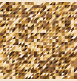 pixelated gold color stripe pattern background vector image