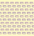 seamless background pattern of banknote vector image vector image