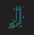 socks icon design vector image vector image