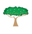 Decorative tree design vector image vector image