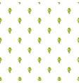 elm tree pattern seamless vector image