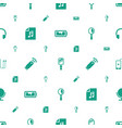 portable icons pattern seamless white background vector image vector image
