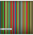 Retro stripes pattern vector image
