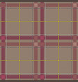 scottish tartan checkered seamless pattern vector image vector image