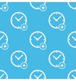 Add time pattern vector image vector image