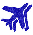airlines icon grunge watermark vector image vector image