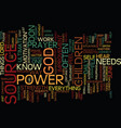 are you hooked to the power source text vector image vector image