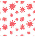 coronavirus seamless pattern repetitive flat of vector image
