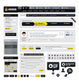 web design website element a web design template vector image
