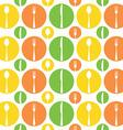 Vintage Cutlery Pattern vector image