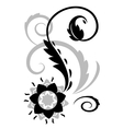 Abstract fantasy flowers vector image vector image