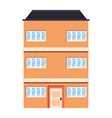 building urban structure vector image
