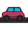 car vehicle sedan icon vector image vector image