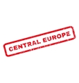 Central Europe Rubber Stamp vector image vector image
