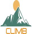 Climb vector image vector image